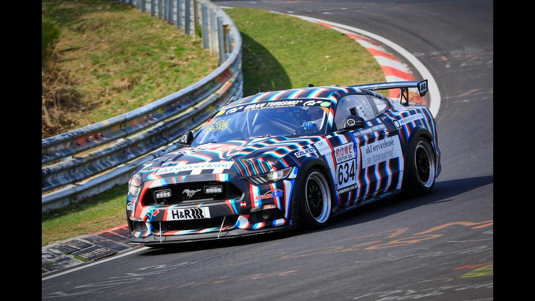 Ford Mustang GT - Startnummer #634 - AT(-G) - VLN 2019 - Langstreckenmeisterschaft - Nürburgring - Nordschleife