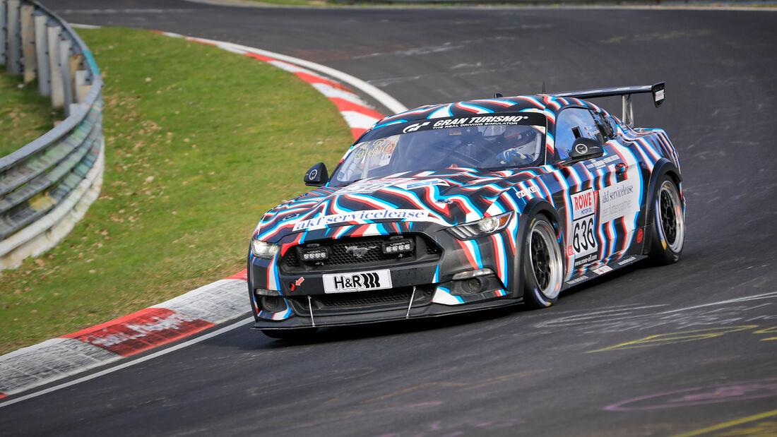 Ford Mustang GT - Startnummer #636 - AT(-G) - NLS 2021 - Langstreckenmeisterschaft - Nürburgring - Nordschleife