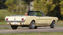 Ford Mustang GT V8 Cabrio, Heckansicht
