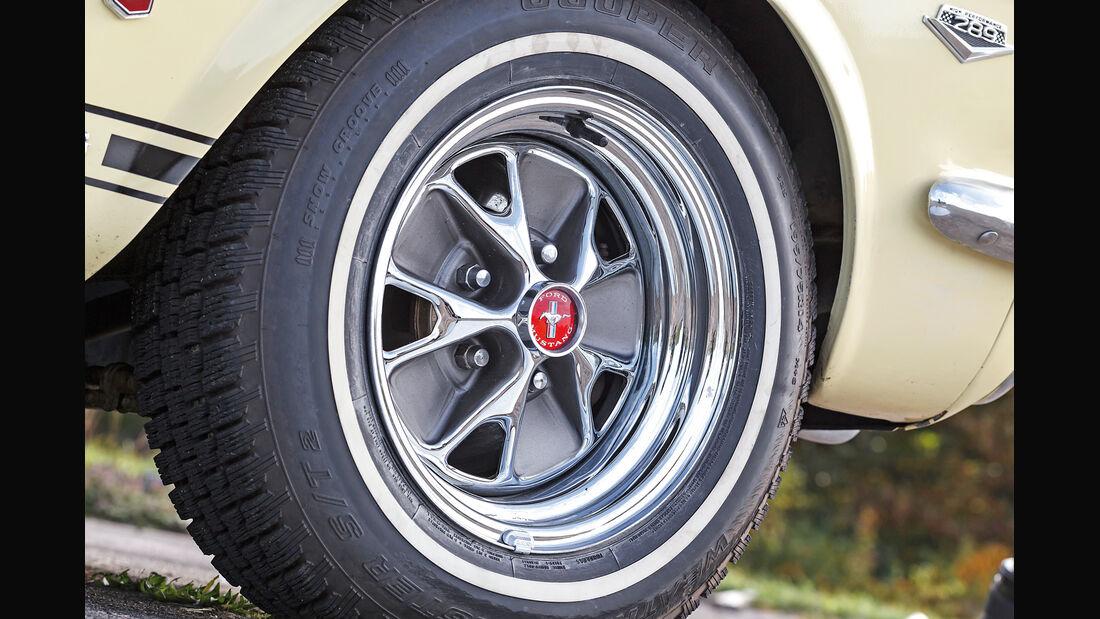 Ford Mustang GT V8 Cabrio, Rad, Felge