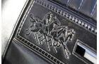 Ford Mustang GT V8 Cabrio, Sitzlehne, Pferdemuster