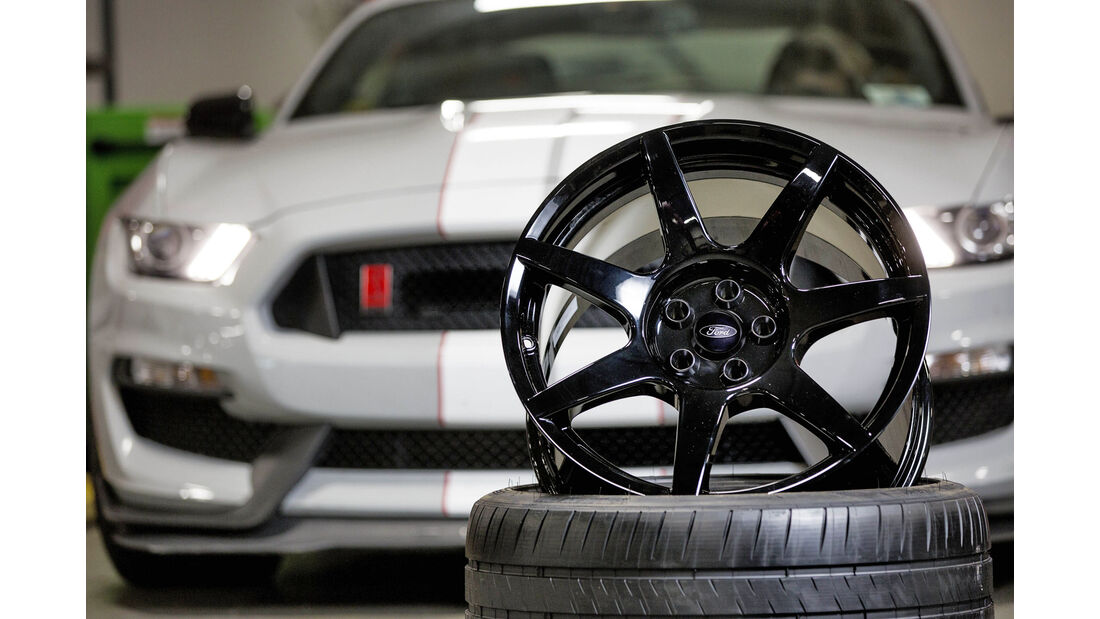 Ford Mustang, GT350R, Carbon, Felge