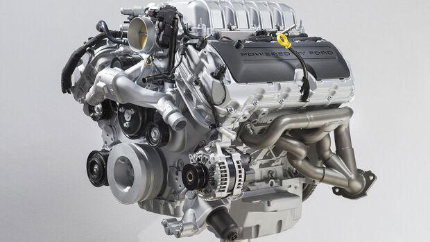 Ford Mustang GT500 Motor