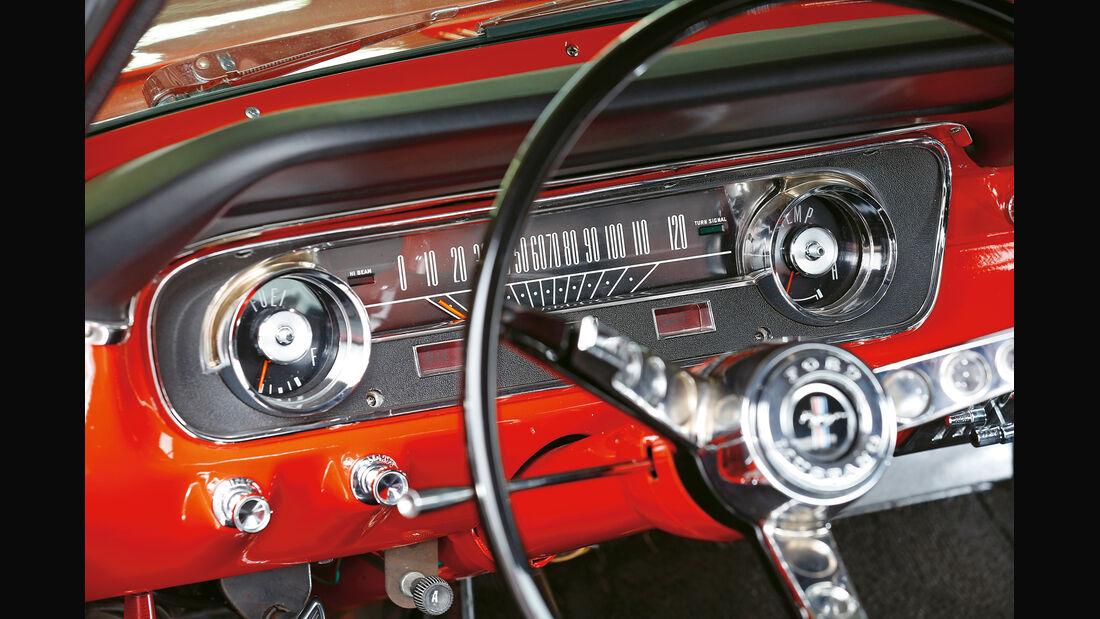 Ford Mustang Hardtop Coupé 1965, Anzeigeinstrument