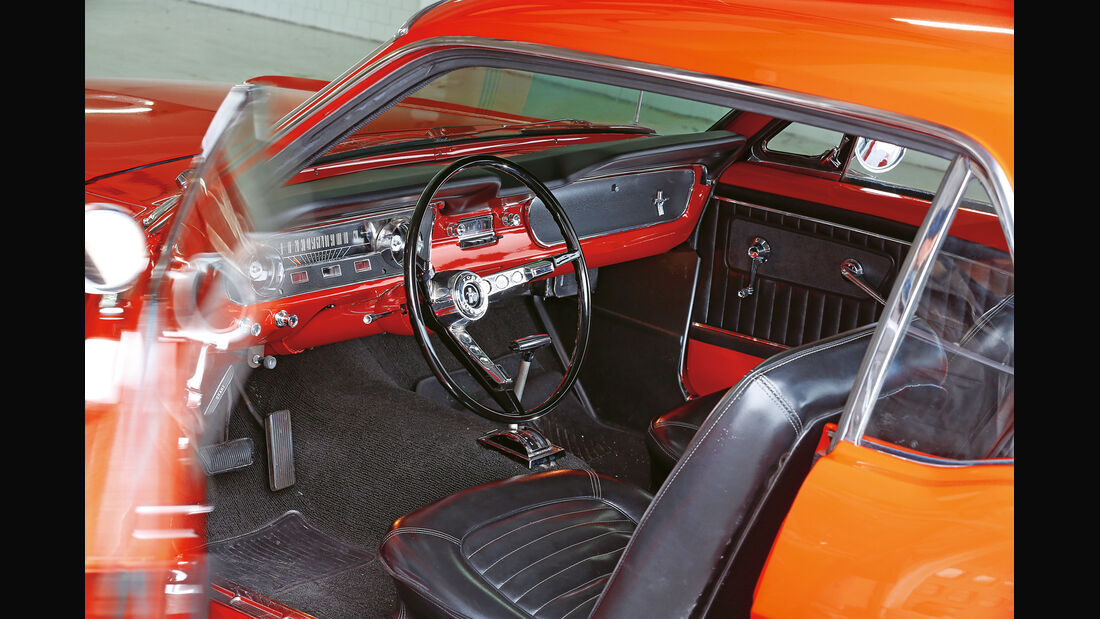 Ford Mustang Hardtop Coupé 1965, Cockpit