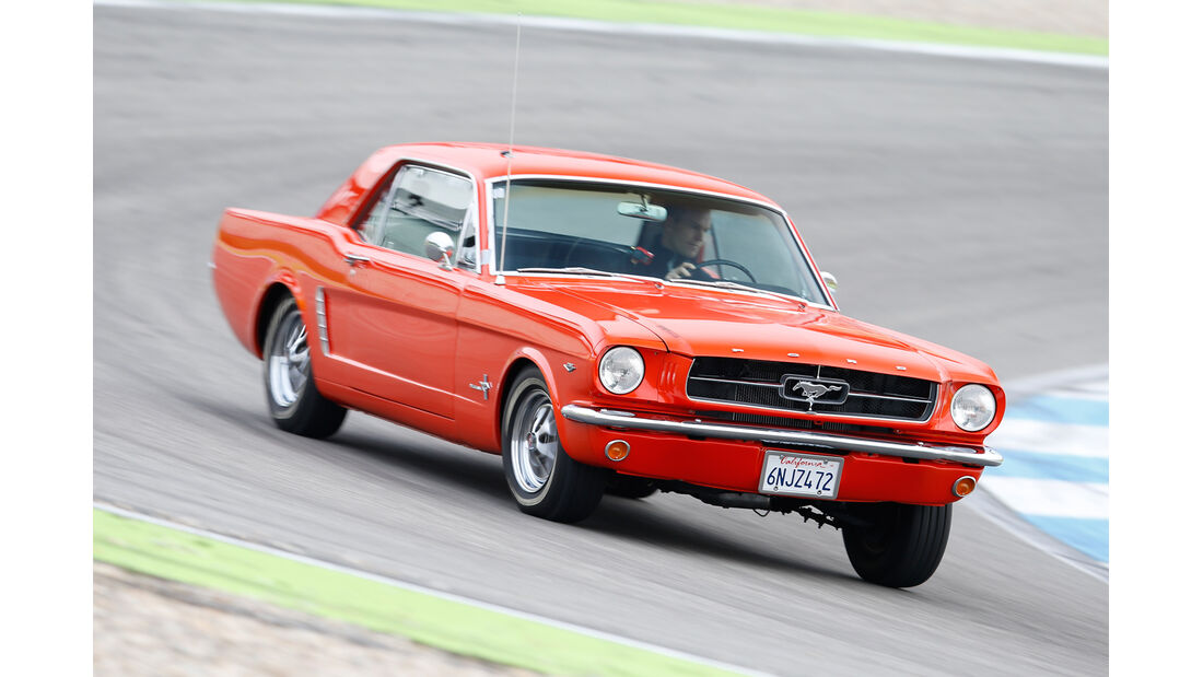 Ford Mustang Hardtop Coupé 1965, Frontansicht