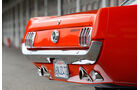 Ford Mustang Hardtop Coupé 1965, Heck