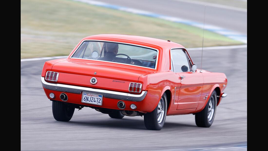 Ford Mustang Hardtop Coupé 1965, Heckansicht