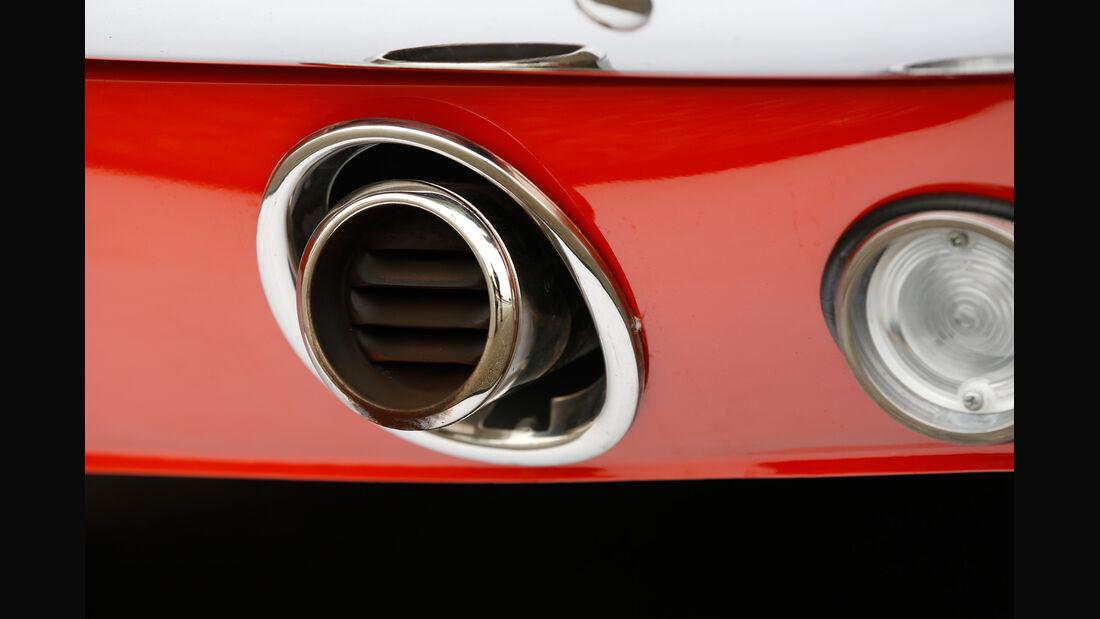 Ford Mustang Hardtop Coupé 1965, Luftausströmer