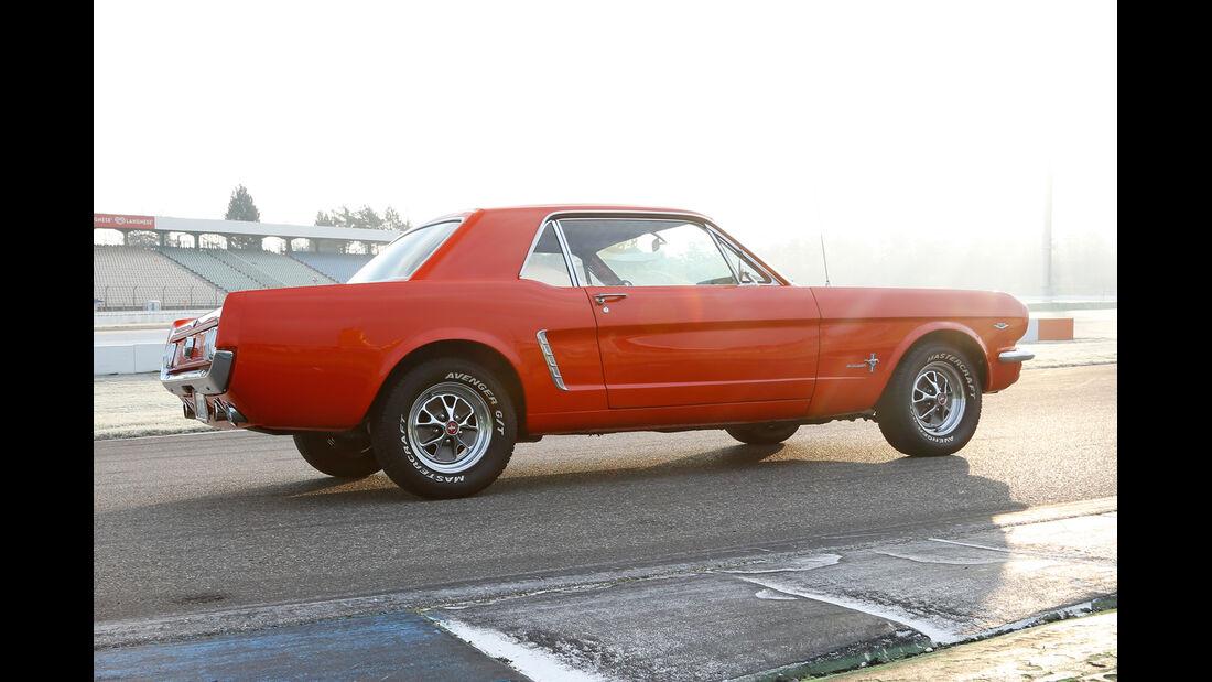 Ford Mustang Hardtop Coupé 1965, Seitenansicht