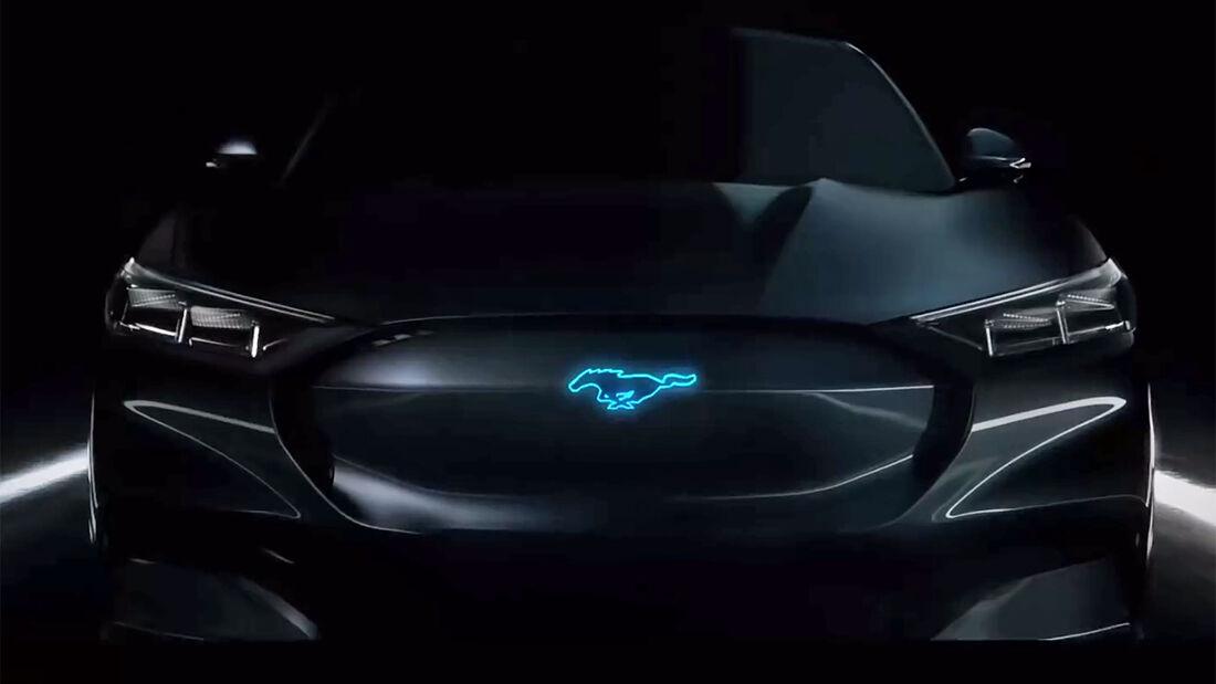 Ford Mustang Hybrid Teaser