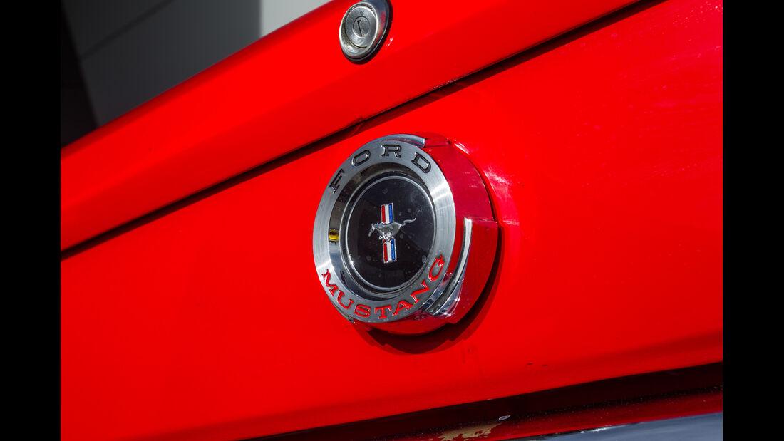 Ford Mustang I, Heckklappe, Verschluss