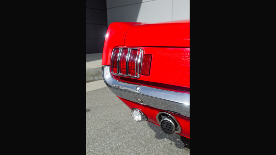 Ford Mustang I, Heckleuchte