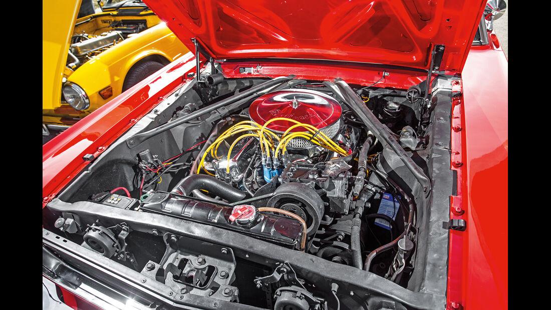 Ford Mustang I, Motor