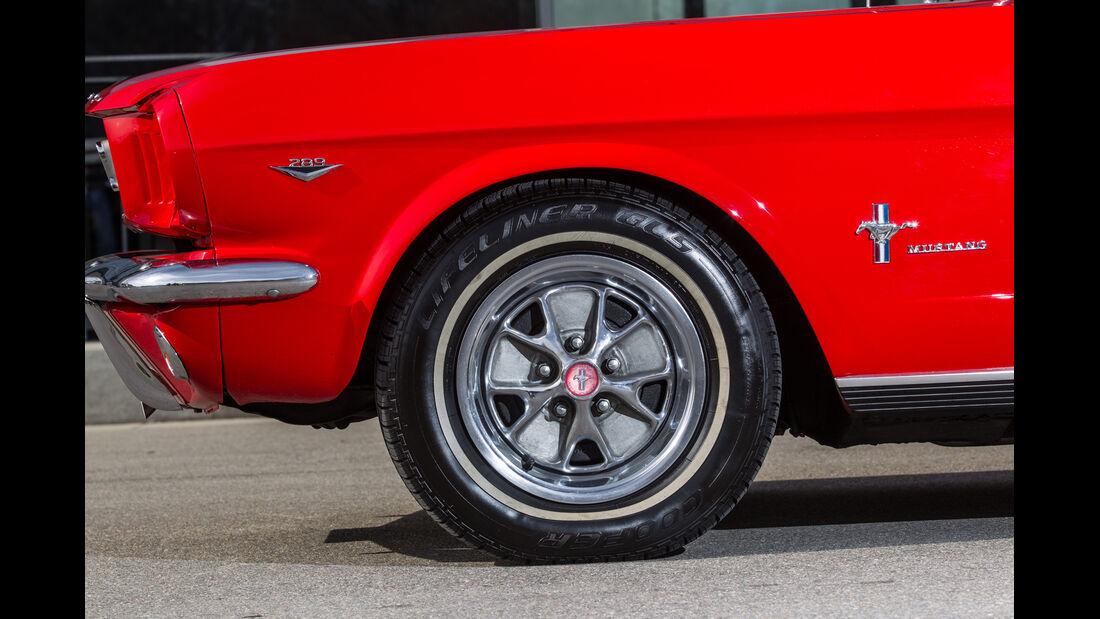 Ford Mustang I, Rad, Felge