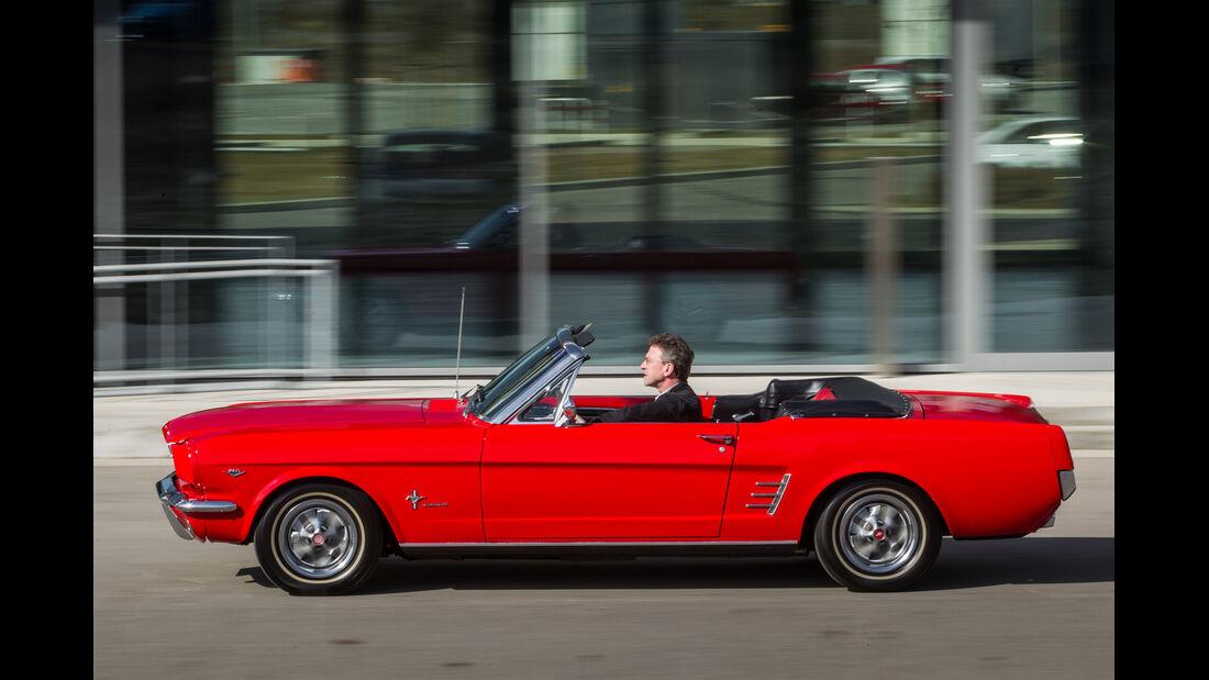 Ford Mustang I, Seitenansicht