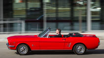 Ford Mustang I, Seitenansicht