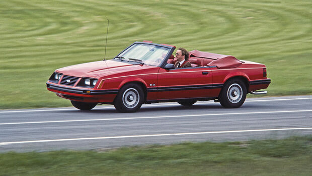 Ford Mustang III Cabrio rot