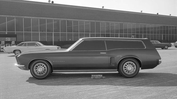 Ford Mustang Kombi Shooting Brake Concept 1966