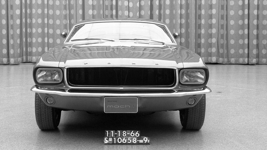 Ford Mustang Mach 1 concept 1967