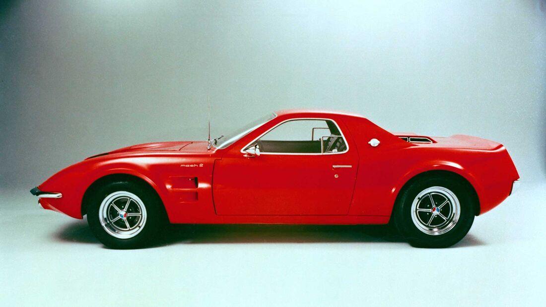 Ford Mustang Mach 2 Mittelmotor Studie 1970
