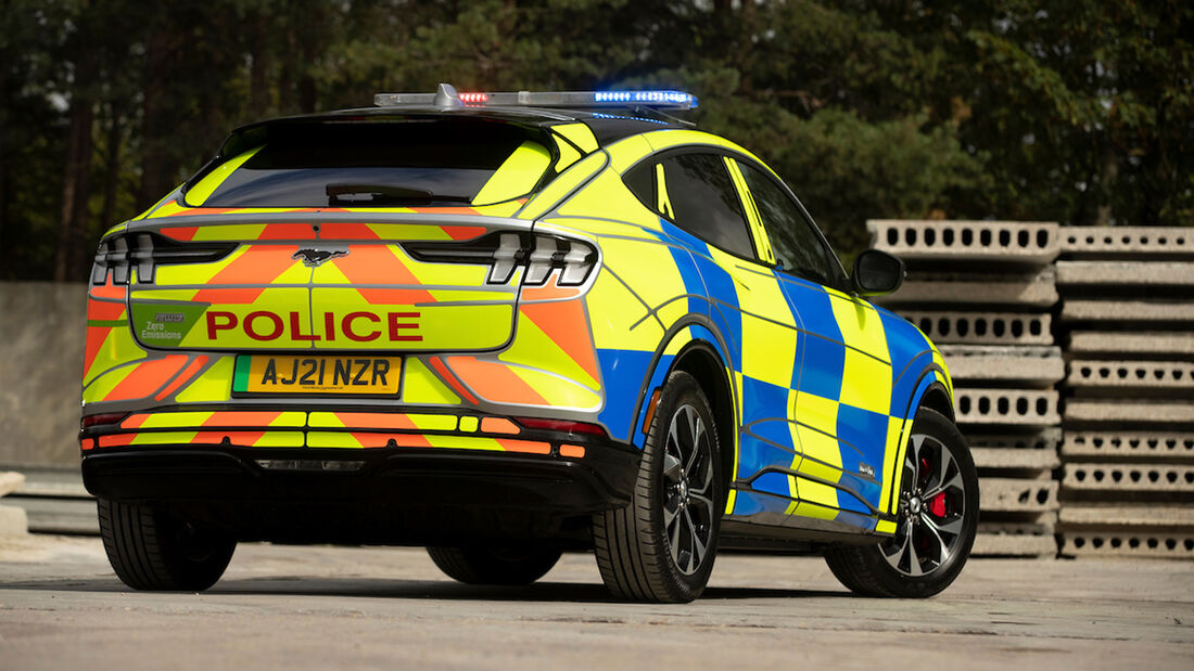 Ford Mustang Mach-E police concept