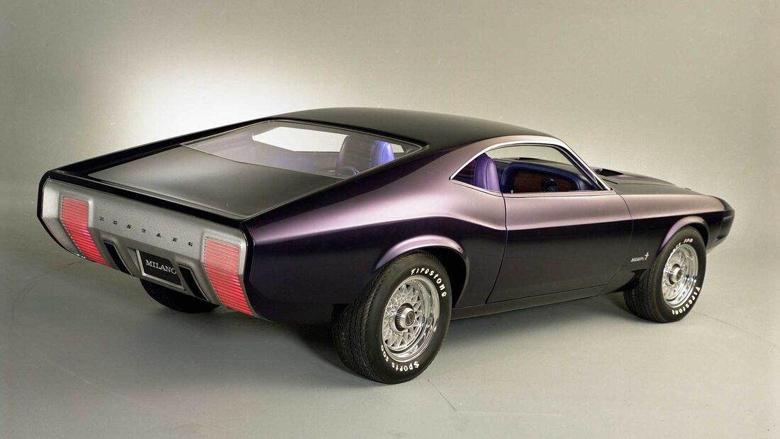 Ford Mustang Milano Concept (1967)