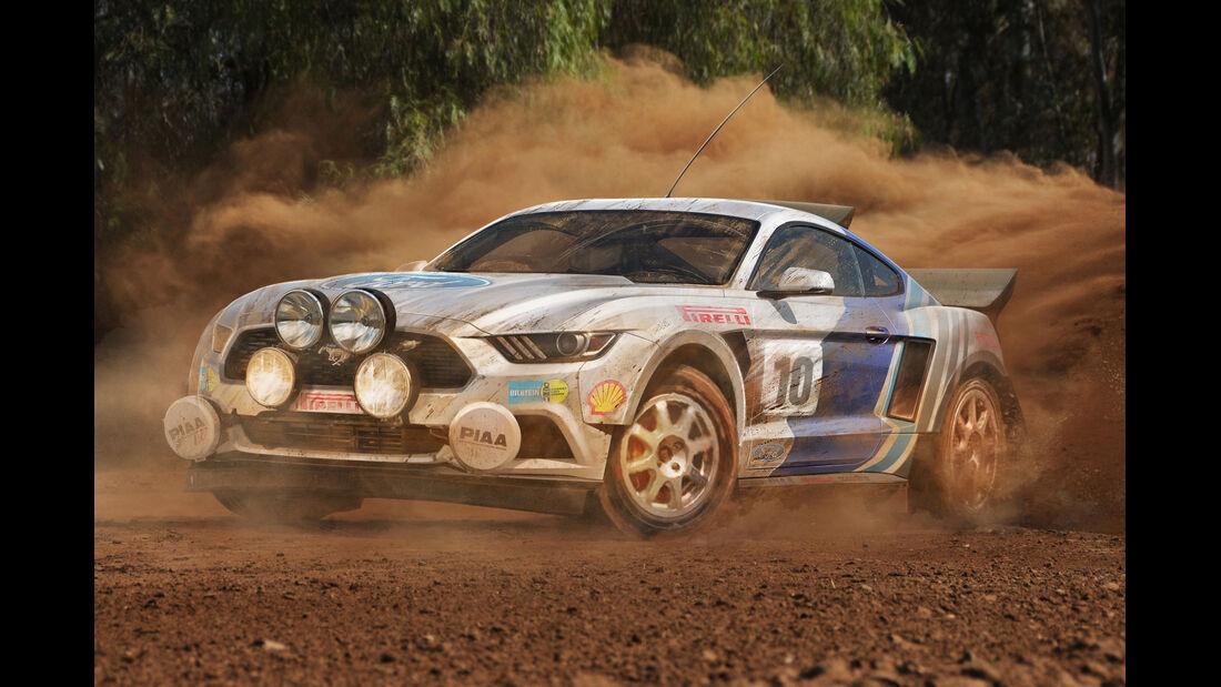 Ford Mustang - Moderne Rallye-Legenden