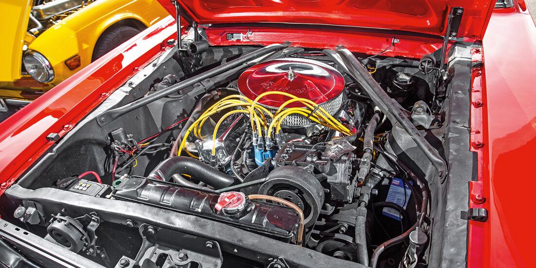 Ford Mustang, Motor