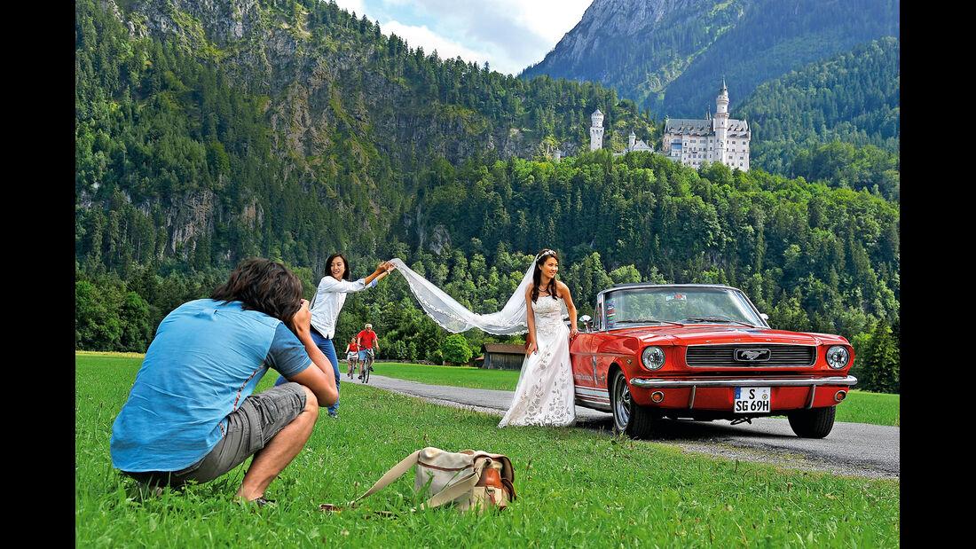 Ford Mustang, Neuschwanstein
