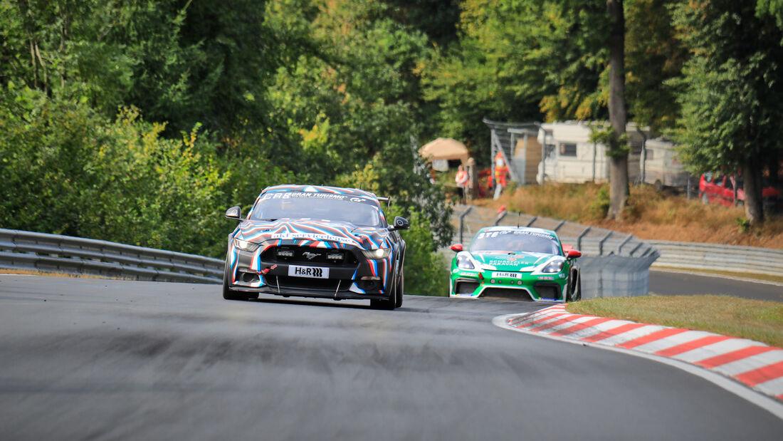 Ford Mustang - OVR Racing Cologne - Startnummer #109 - 24h-Rennen - Nürburgring - Nordschleife - Donnerstag - 24. September 2020