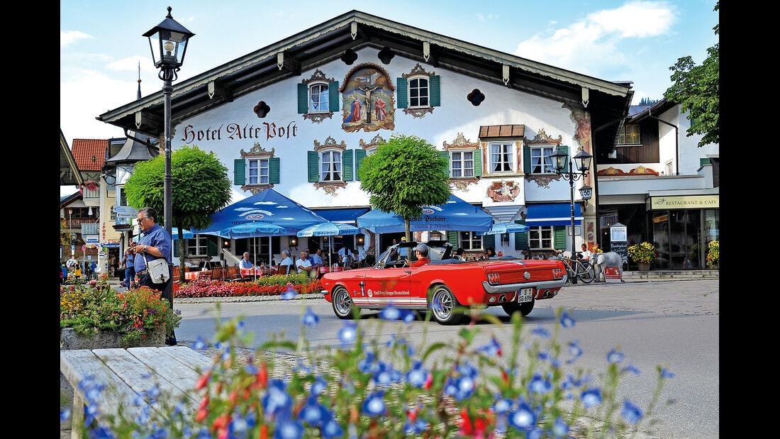Ford Mustang, Oberammergau