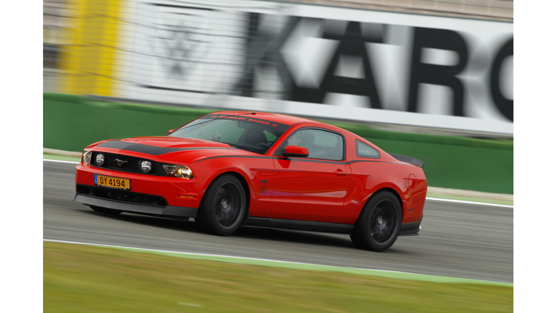 Ford Mustang RTR, Frontseite rechts