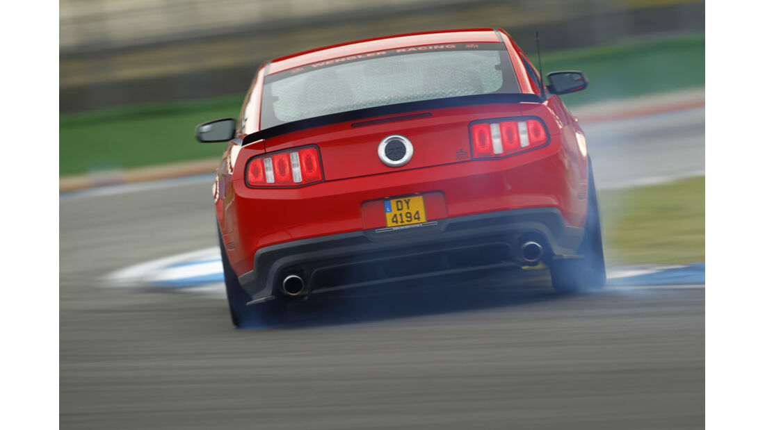 Ford Mustang RTR, Heck