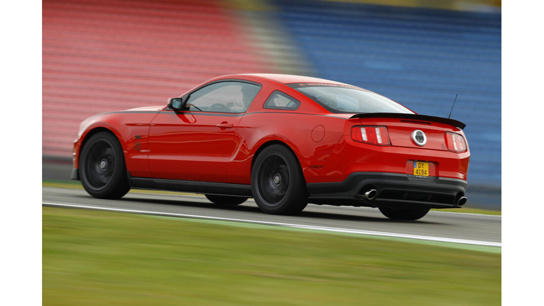 Ford Mustang RTR, Heckseite rechts