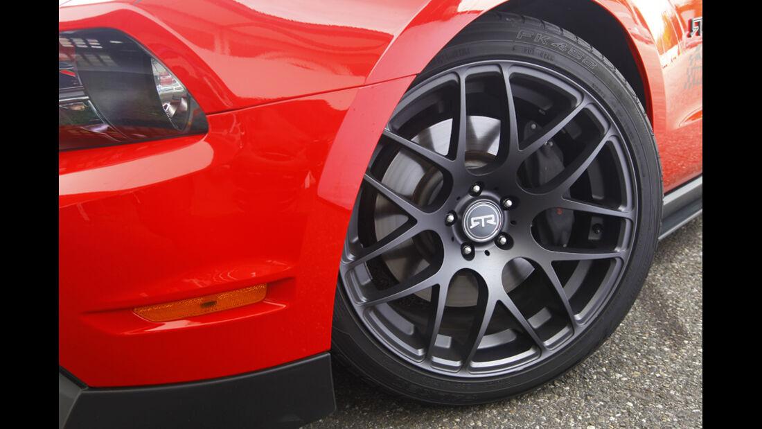 Ford Mustang RTR, Rad, Reifen, Felge