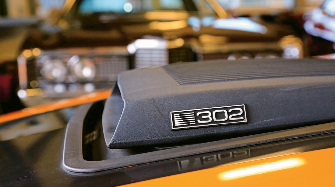 Ford Mustang Saleen 302, Luftansauger, Shaker Hood
