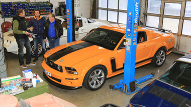 Ford Mustang Saleen 302, Prüfstand