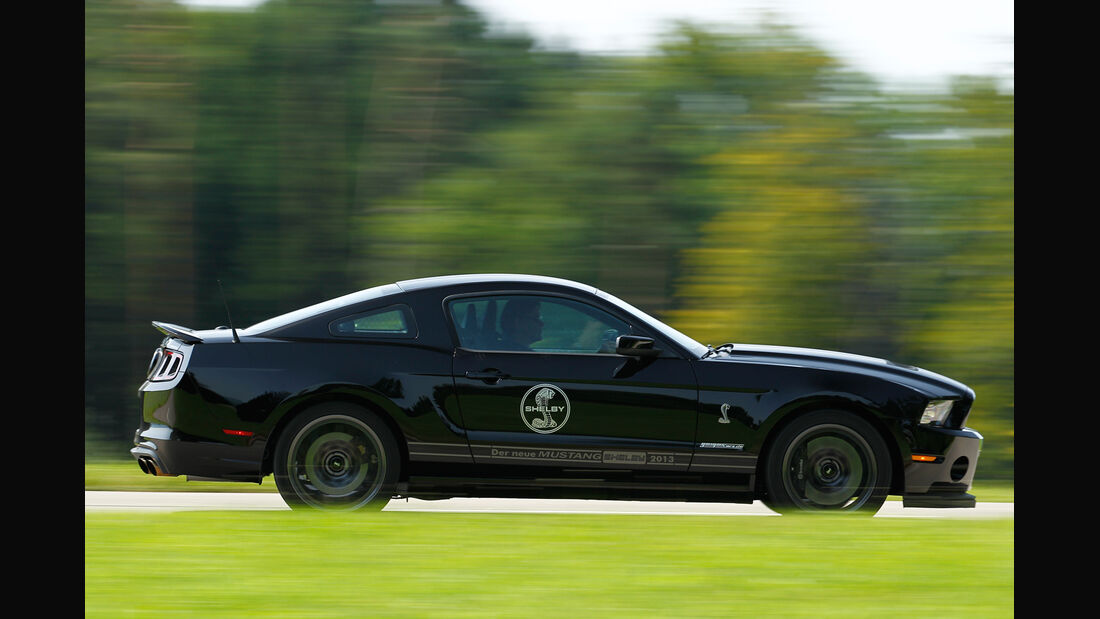 Ford Mustang Shelby GT 500, Seitenansicht