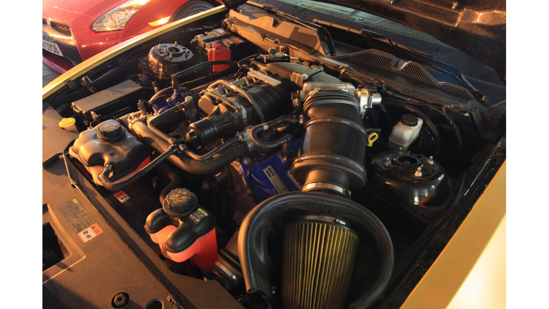 Ford Mustang Shelby GT 640, Motor