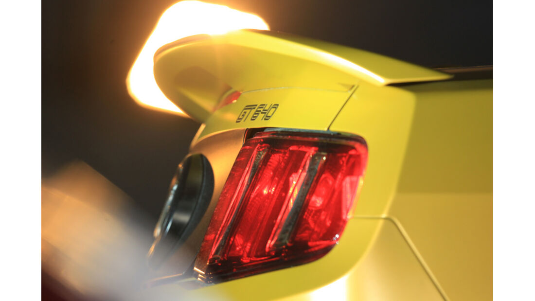 Ford Mustang Shelby GT 640, Rückleuchte, Spoiler
