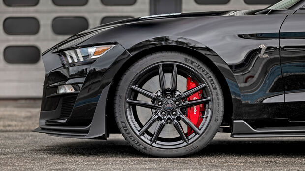 Ford Mustang Shelby GT500, Exterieur