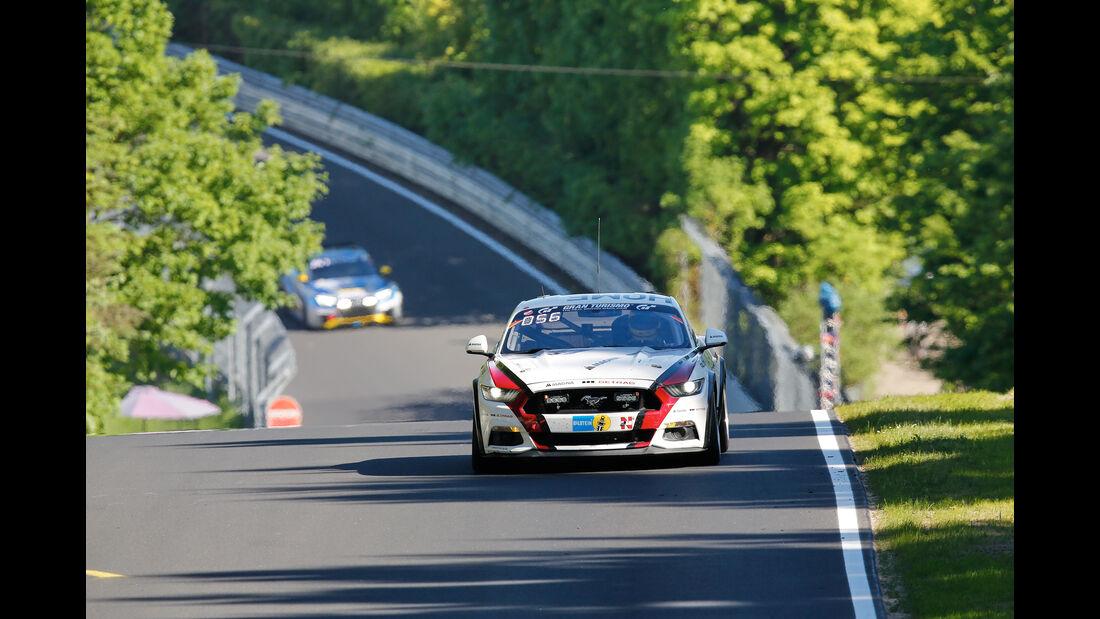 Ford Mustang - Startnummer #45 - 24h-Rennen Nürburgring 2017 - Nordschleife - Samstag - 27.5.2017