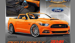 Ford Mustang Stitchcraft Sema 2016