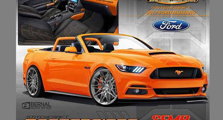 Ford Mustang Stitchcraft Sema 2016
