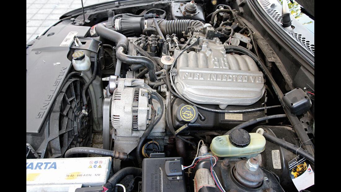Ford Mustang V6, Motor