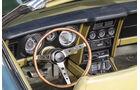 Ford Mustang V8 Cabrio, Cockpit, Lenkrad