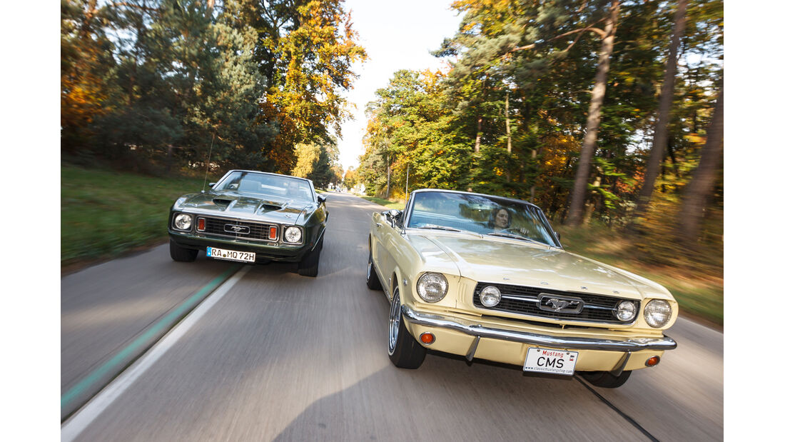Ford Mustang V8 Cabrio, Ford Mustang GT V8 Cabrio, Frontansicht