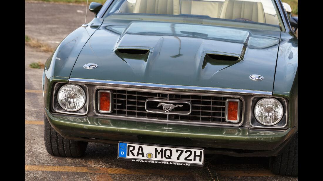 Ford Mustang V8 Cabrio, Frontansicht, Kühlergrill