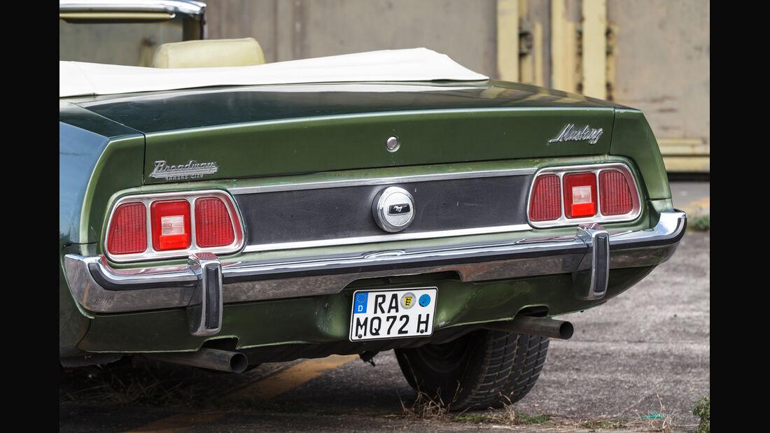 Ford Mustang V8 Cabrio, Heck, Heckleuchten